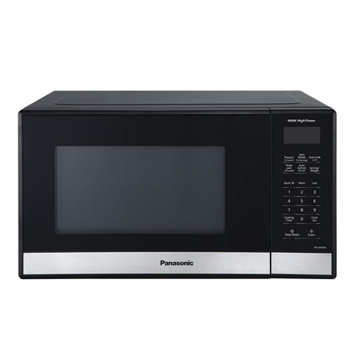 08. Panasonic Compact Microwave Oven with 900 Watts of Cooking Power