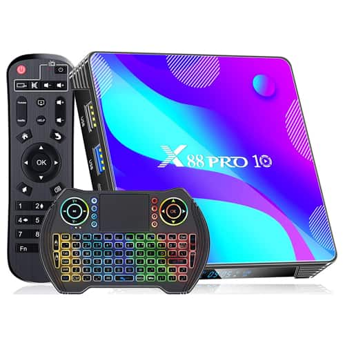 06. X88 PRO Android TV Box